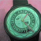 RARE unusual truth clothes KNOWLEDGE QUARTZ WATCH