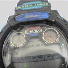 UNUSUAL SPORT WIZARD WILSON LCD CHRONO ALARM WATCH RUNS