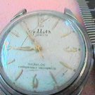 OLD 17 JEWEL SELLITA WATCH RUNS NEEDS GLASS