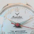 UNUSUAL MANHATTEN WATERMAN WATCH RUNS NDS GLASS
