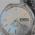 OLD LUCIEN PICCARD LADIES DAY DATE QUARTZ WATCH 4U2FIX