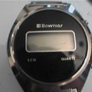 VINTAGE UNUSUAL DIAL BOWMAR LCD WATCH 4U2FIX