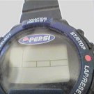UNUSUAL PEPSI LCD JAPAN MOVEMENT CHRONO WATCH NEEDS BAT