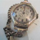 ART DECO TIMES WATCH CO 14KT SOLID GOLD WATCH 4U2FIX