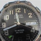 BIG NUMBER 165FT GUESS WATERPRO DAY DATE QUARTZ WATCH