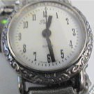 UNUSUAL SMALL BAND LADIES PEARL QUARTZ WATCH RUNS