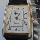 UNUSUAL ROMAN # DIAL SQUARE CASE LADIES VISAGE WATCH