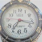 KATHY IRELAND LADIES QUARTZ WATCH WITH COMPASS BAND