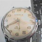 VINTAGE 1970 CARAVELLE WR WATCH RUNS NEEDS GLASS