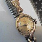 VINTAGE ELGIN LADIES COCKTAIL WATCH RUNS