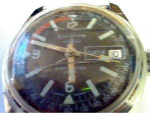 VINTAGE SWISS LUCERNE DATE WINDUP WATCH 4U2FIX