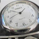 SMALL UNUSUAL CHICO'S FOREVER QUARTZ CLOCK