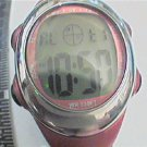 UNUSUAL SHAPE ARMITRON LADIES LCD 333FT WR WATCH RUNS