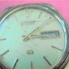 VINTAGE SEIKO DAY DATE QUARTZ WATCH 4U2FIX glass band