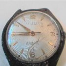 VINTAGE SUNBURST DIAL WELSBRO AUTO WATCH RUNS 4U2FIX