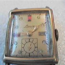 VINTAGE STONED DIAL LOUS SQUARE WATCH 4U2FIX