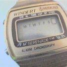 ladies windert serenade alarm chrono lcd watch runs