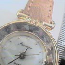 UNUSUAL STONE IN BEZEL JACMOR LADIES QUARTZ WATCH RUNS