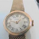 UNUSUAL ROMAN NUMBER DIAL TIMEX LADIES WINDUP WATCH RUN