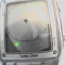 VINTAGE 80'S COMPU CHRON LCD SQUARE WATCH 4U2FIX