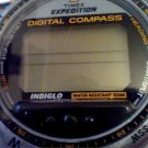 BIG TIMEX DIGITAL COMPASS EXPEDITION WATCH NEEDS BAND