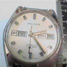 UNUSUAL OLD DAY DATE 17J WALTHAM INCABLOC WATCH 4U2FIX