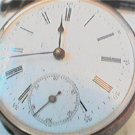 UNKNOWN NAME SILVER CASE POCKETWATCH 4U2FIX