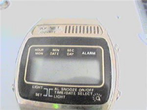 VINTAGE SONIC QUARTZ LCD ALARM CHRONO WATCH 4U2FIX