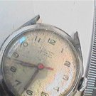 UNUSUAL RED HAND WILSONIAN 17 JEWEL WINDUP WATCH 4U2FIX