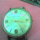 1970 CARAVELLE DATE WINDUP WATCH RUNS 4U2FIX