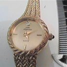 UNUSUAL BEZEL JULES JURGENSON LADIES QUARTZ WATCH RUNS