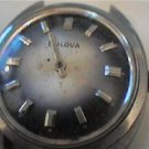UNUSUAL BLUE WHITE DIAL BULOVA 1976 WATCH 4U2FIX