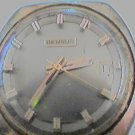 VINTAGE BENRUS DATE WINDUP WATCH RUNS AND STOPS 4U2FIX