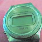 PLAIN VINTAGE TEXAS INSTRUMENTS LCD WATCH UNTESTED 4FIX