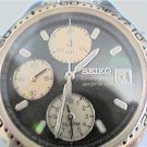 RARE SEIKO SPORTS 100 CHRONOGRAPH ALARM WATCH RUNS