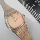 UNIQUE VINTAGE STONE AT 12 LADIES SEIKO QUARTZ WATCH