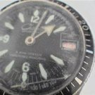 VINTAGE BLACK DIAL CHATEAU 5ATM DIVER DATE WATCH 4U2FIX