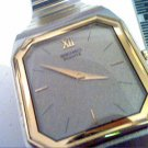THIN TWO TONE SEIKO SQUARE QUARTZ WATCH 4U2FIX