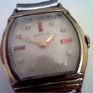 VINTAGE SQUARE STONE SUB SEC DIAL BENRUS WATCH 4U2FIX
