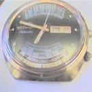RARE UNIQUE WITTNAUER 2002 QUAD DAY DATE AUTO WATCH RUN