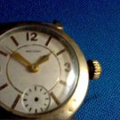 VINTAGE WALTHAM RUBY 17 JEWEL WATCH RUNS MISSING BACK