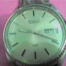 VINTAGE SIMPLE DAY DATE SEIKO GP QUARTZ WATCH RUNS