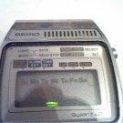 VINTAGE SEIKO A159 LCD QUARTZ ALARM WATCH RUNS 4U2FIX
