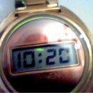 RARE VINTAGE 1972 THICK GRUEN 606 LCD WATCH RUNS 4U2FIX