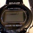 CLEAN ARMITRON ACRYLIC CASE INSTALITE LCD ALARM CHRONO