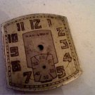 VINTAGE ART DECO HAMILTON WATCH DIAL ONLY 4U2FIX