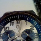 ALL STEEL GUESS 200M DAY DATE DIALS QUARTZ WATCH 4U2FIX