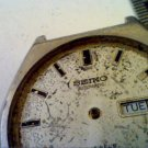 VINTAGE SEIKO 6109 DAY DATE AUTO WATCH RUNS 4U2FIX