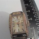 UNUSUAL NUGGETED BEZEL SEIKO LADIES WINDUP WATCH RUNS