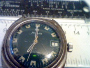 VINTAGE GREEN DIAL NIVADA SP AQUAMAR 17J WATCH 4U2FIX